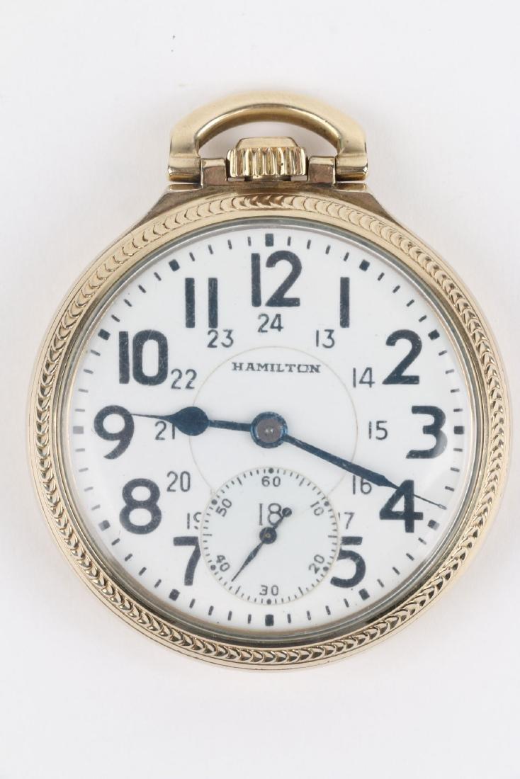 "16S 21J Hamilton ""992B"" Pocket Watch - 4"