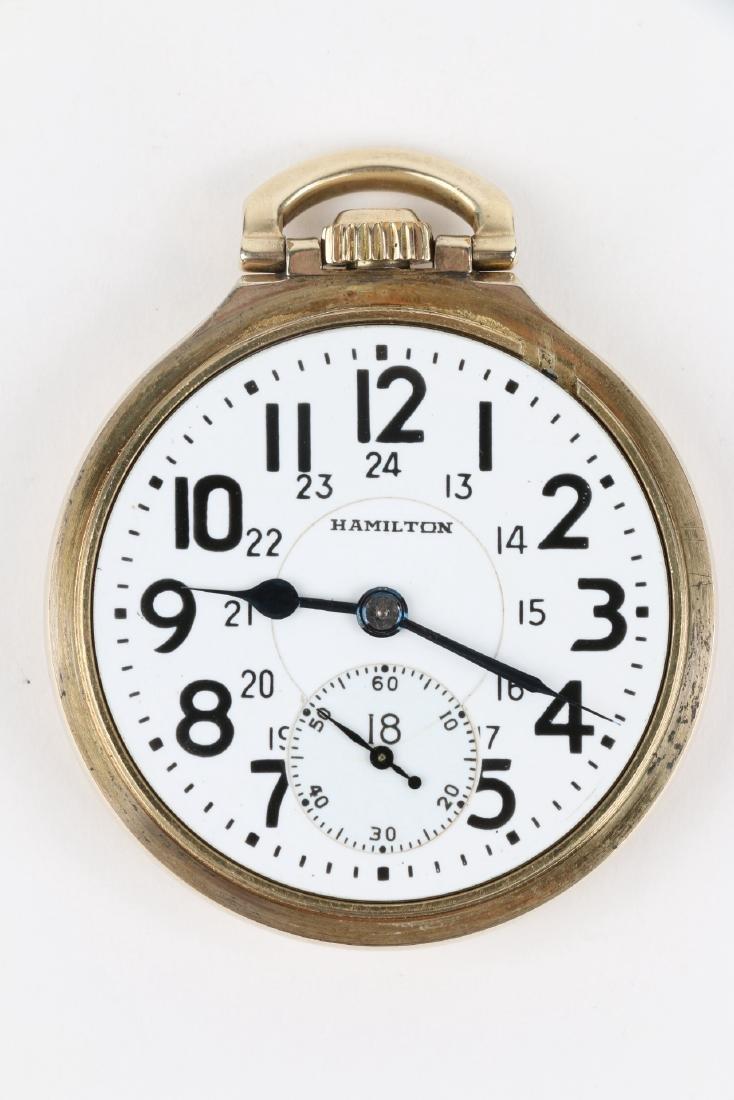 "16S 21J Hamilton ""992B"" Pocket Watch - 5"
