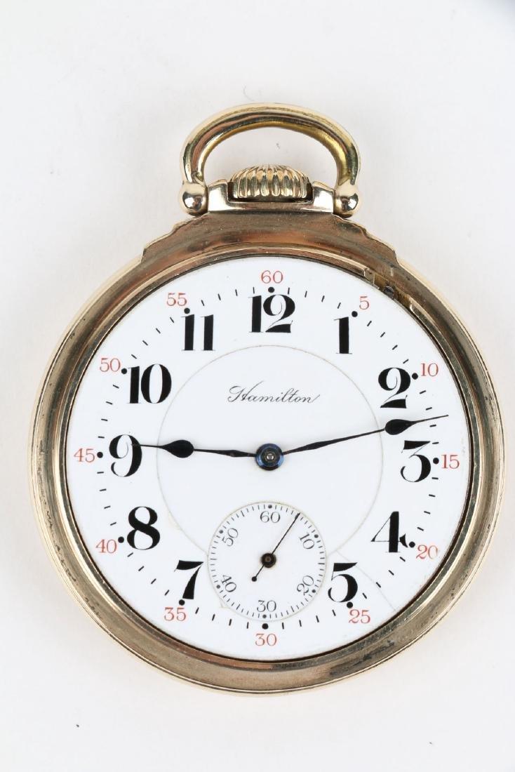 "16S 21J Hamilton ""992"" Pocket Watch - 5"
