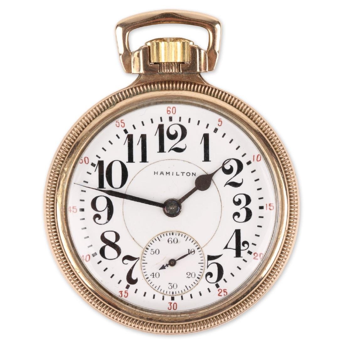 "16S 21J Hamilton ""992"" Pocket Watch"