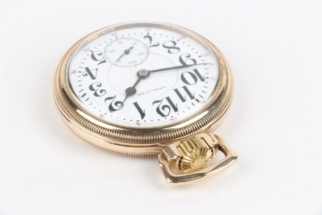 "16S 21J Hamilton ""992"" Pocket Watch - 3"