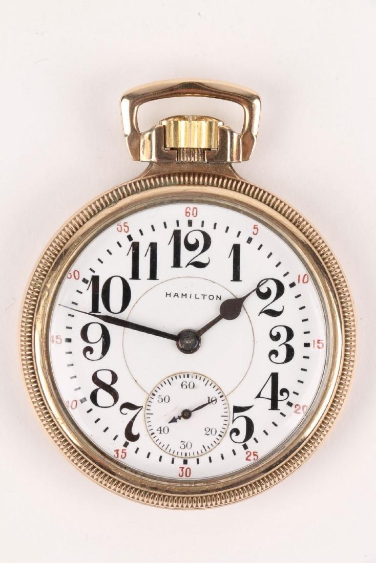 "16S 21J Hamilton ""992"" Pocket Watch - 4"