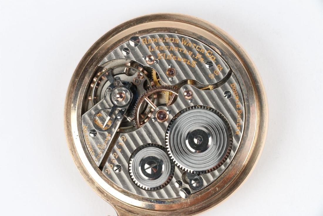 "16S 21J Hamilton ""992"" Pocket Watch - 6"