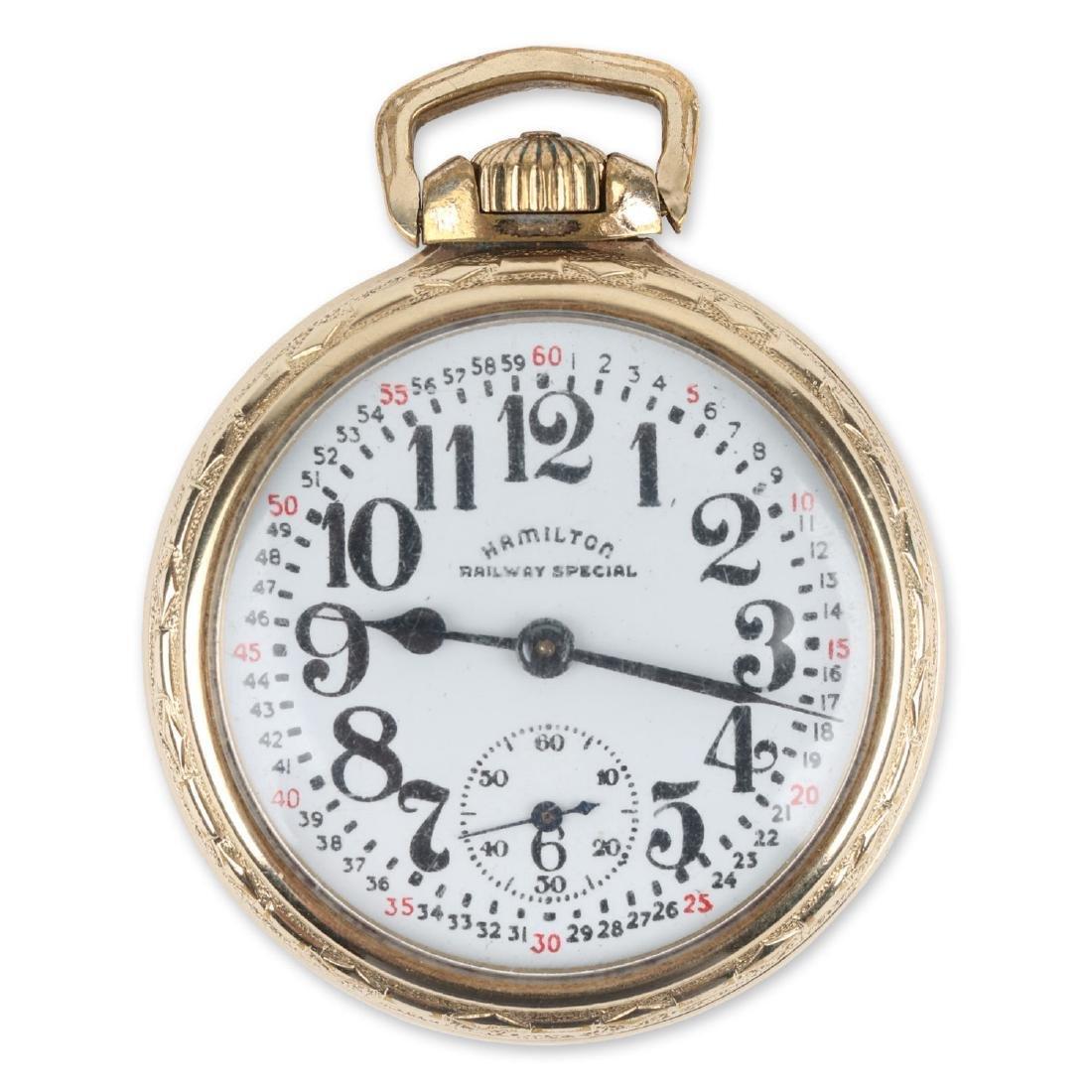 "16S 21J Hamilton ""992B"" Pocket Watch"