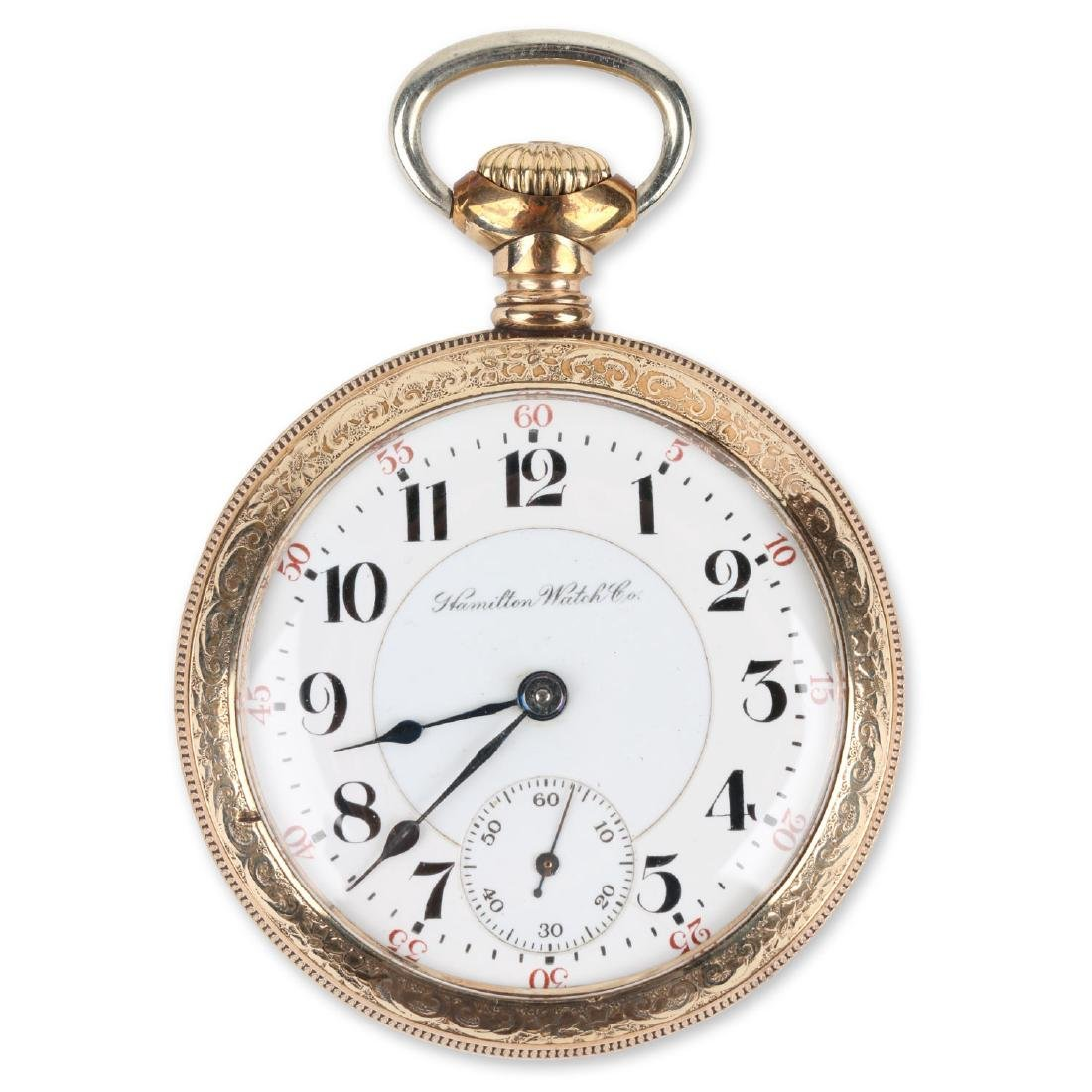 "18S 21J Hamilton ""940"" Pocket Watch"