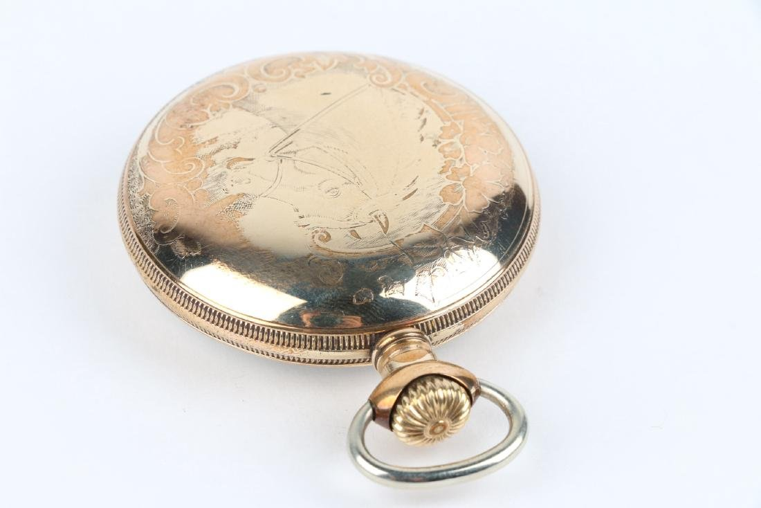 "18S 21J Hamilton ""940"" Pocket Watch - 3"