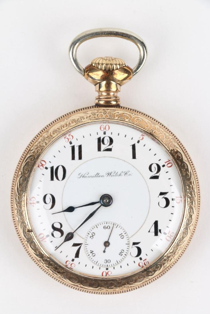 "18S 21J Hamilton ""940"" Pocket Watch - 4"
