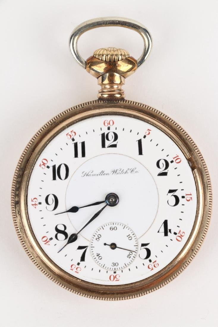 "18S 21J Hamilton ""940"" Pocket Watch - 5"