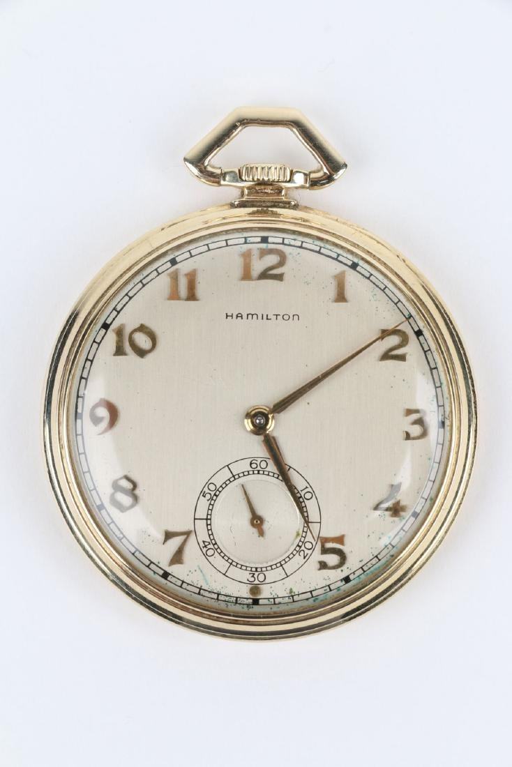 """14K Solid Gold Hamilton """"921"""" Canadian Pacific - 4"""