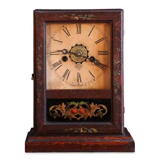 Rare Canada Clock Co Hamilton Gem Cottage Mantel