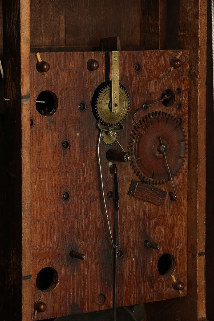 """Historic C.1840 """"Moses Barrett"""" (Nova Scotia) Mantel - 10"""
