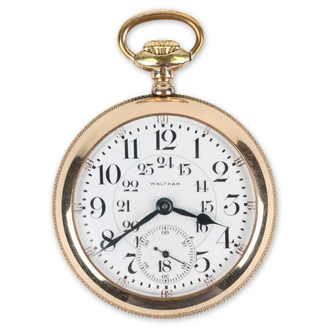 "21J 1892 Model Waltham ""Vanguard"" Pocket Watch"