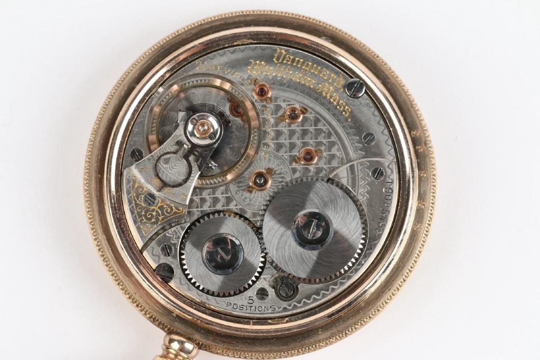 "21J 1892 Model Waltham ""Vanguard"" Pocket Watch - 6"