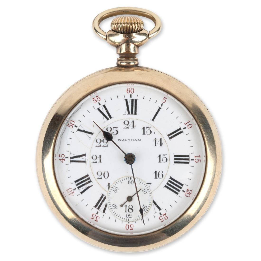 "21J 1892 Model Waltham ""Vanguard"" Pocket Watch"
