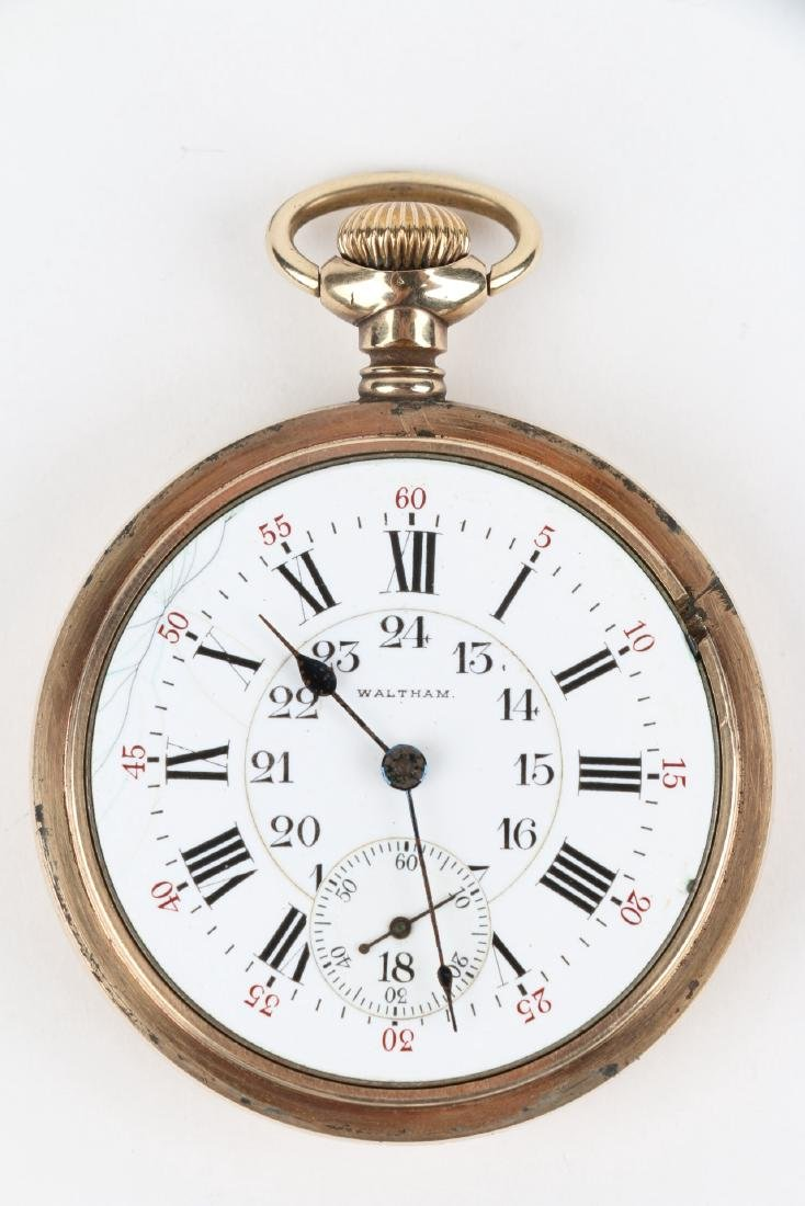 "21J 1892 Model Waltham ""Vanguard"" Pocket Watch - 5"