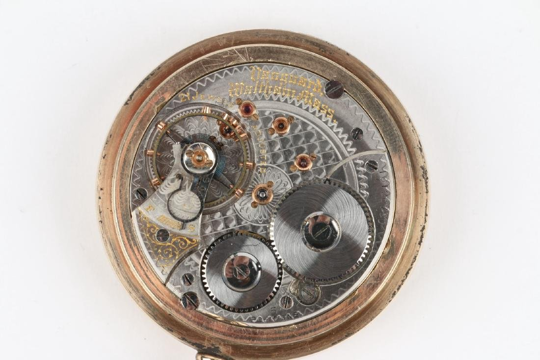 "21J 1892 Model Waltham ""Vanguard"" Pocket Watch - 6"