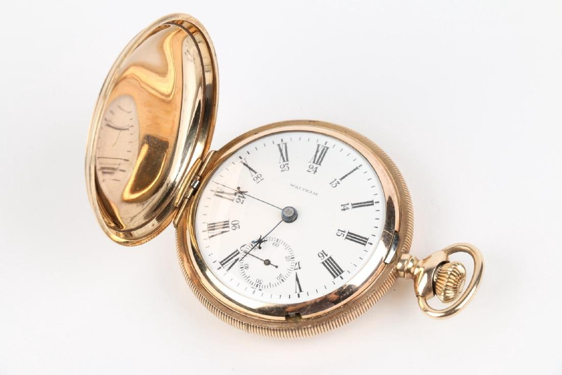 "18S HC 1883 Model Waltham ""Crescent St"" Pocket Watch - 5"