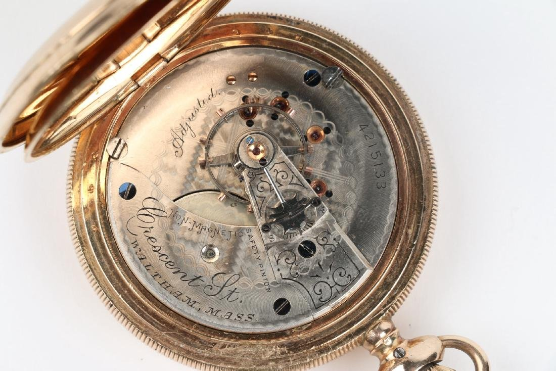 "18S HC 1883 Model Waltham ""Crescent St"" Pocket Watch - 6"
