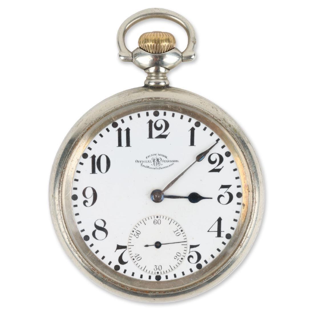 21J Ball Watch Co. 1899 Model Waltham Pocket Watch