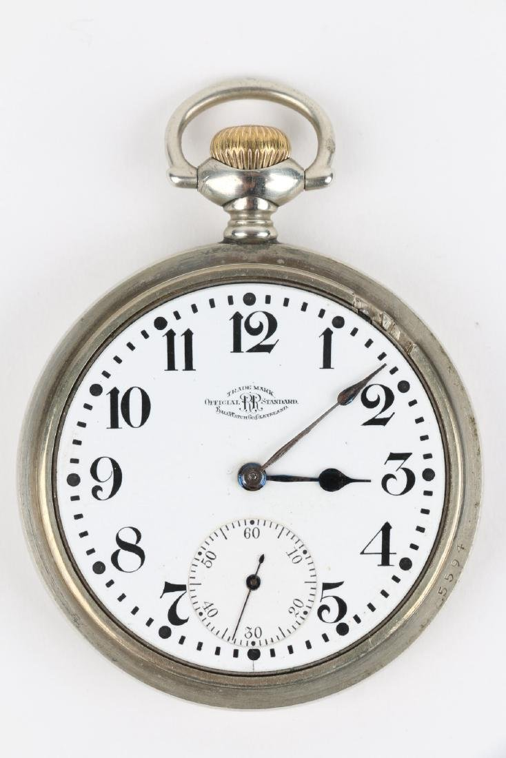 21J Ball Watch Co. 1899 Model Waltham Pocket Watch - 5