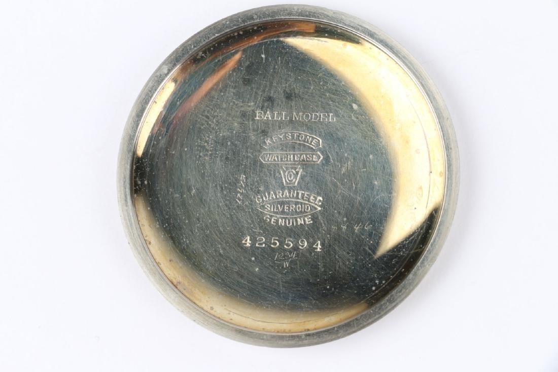 21J Ball Watch Co. 1899 Model Waltham Pocket Watch - 7