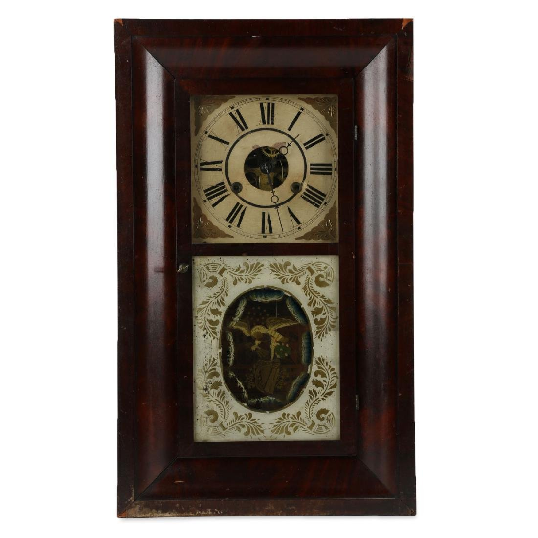 "C.1840 Chauncey Jerome ""American Eagle"" OG Mantel Clock"