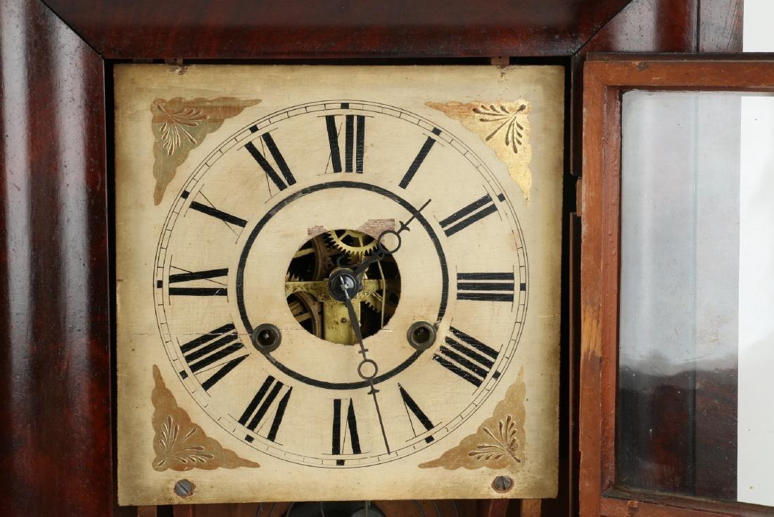 "C.1840 Chauncey Jerome ""American Eagle"" OG Mantel Clock - 6"