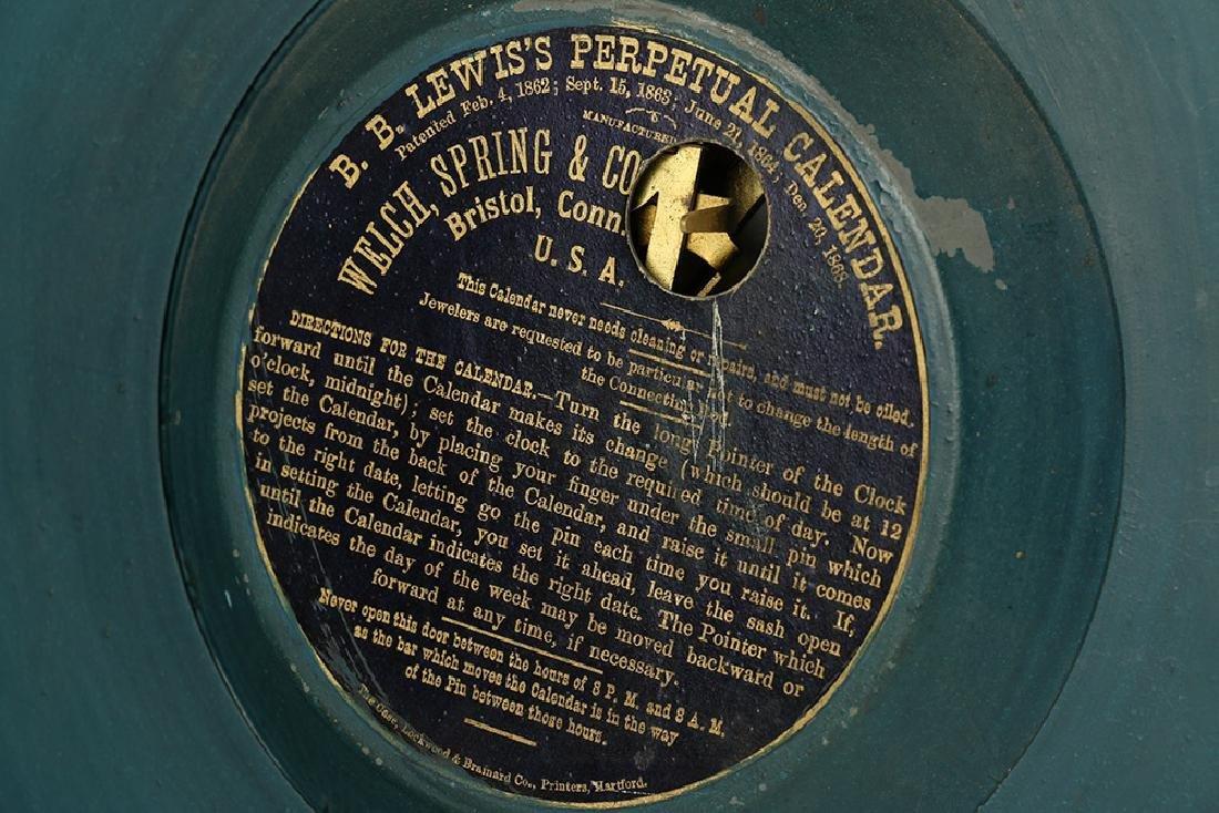 "C.1889 Welch Spring & Co. ""Regulator No. 11"" ""Audran"" - 7"