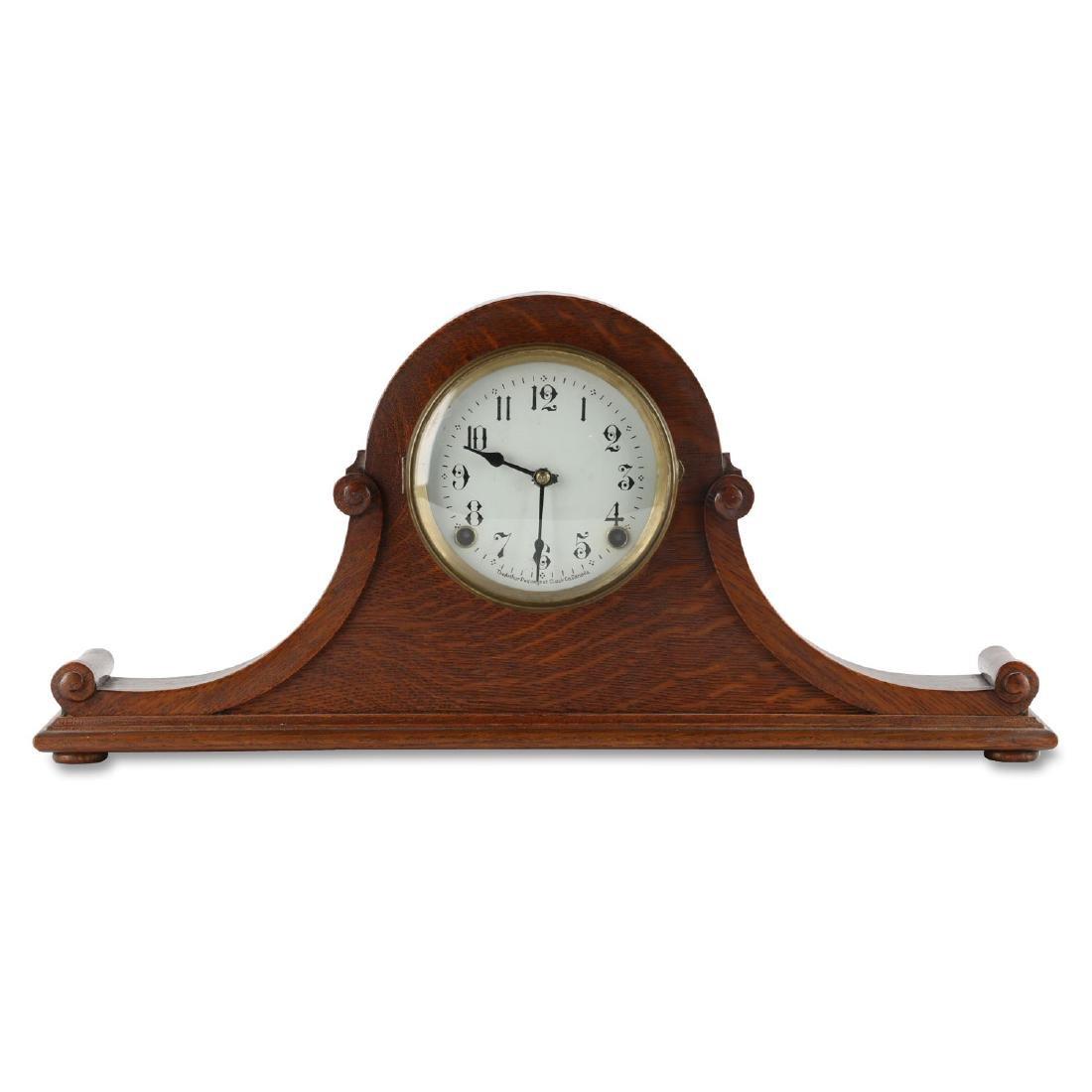 "Rare Pequegnat ""Classic"" Mantel Clock"
