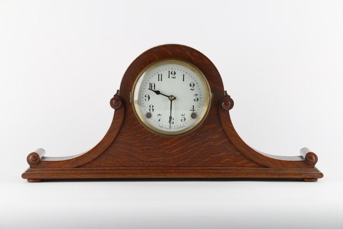 "Rare Pequegnat ""Classic"" Mantel Clock - 5"