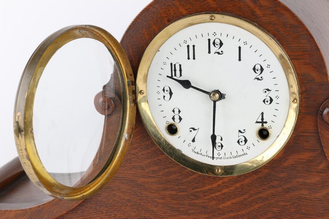 "Rare Pequegnat ""Classic"" Mantel Clock - 6"