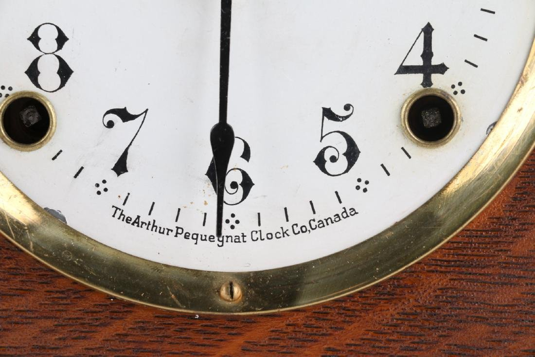 "Rare Pequegnat ""Classic"" Mantel Clock - 7"