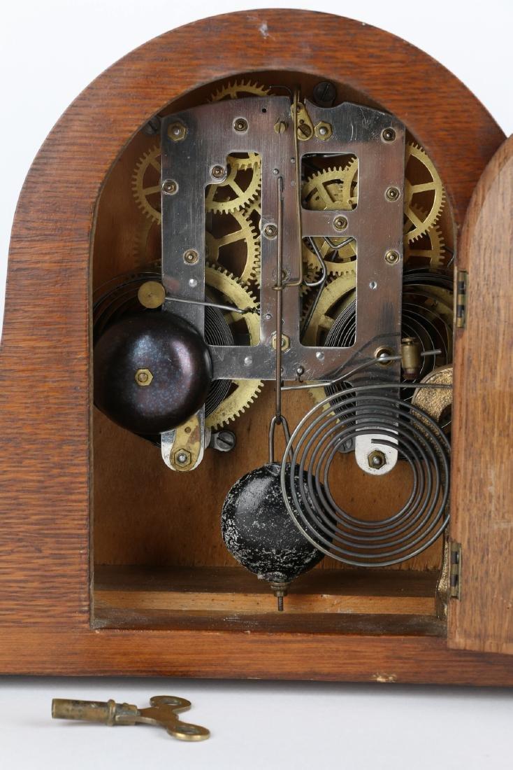 "Rare Pequegnat ""Classic"" Mantel Clock - 8"