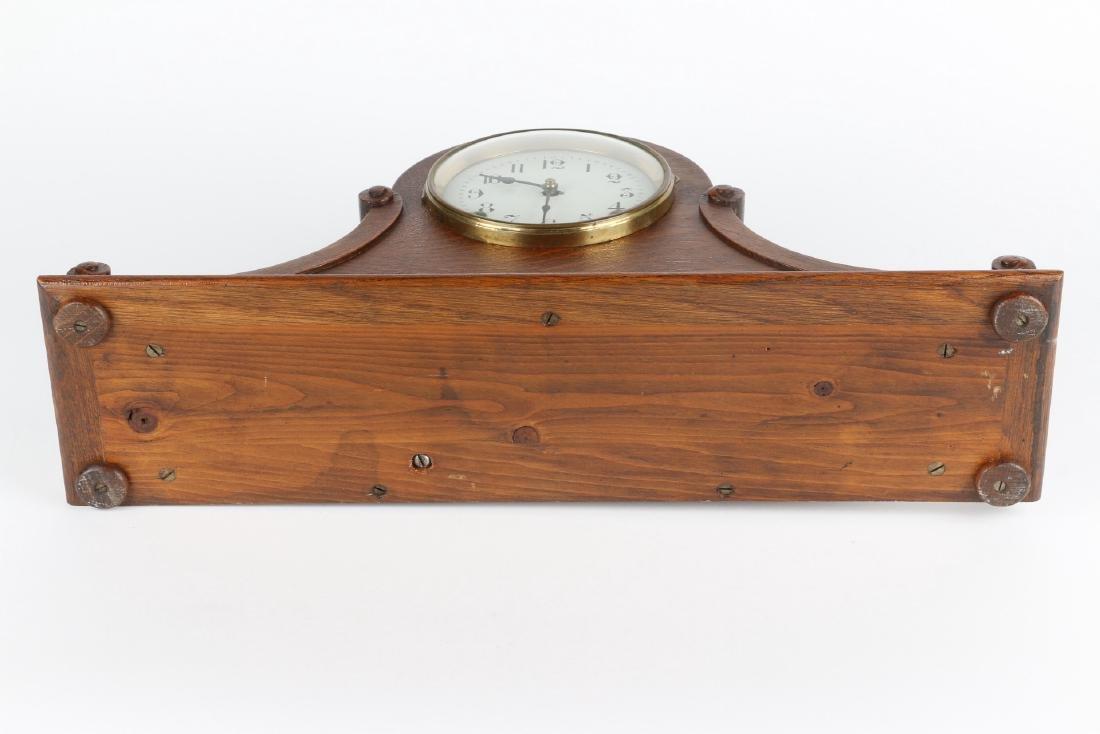 "Rare Pequegnat ""Classic"" Mantel Clock - 9"