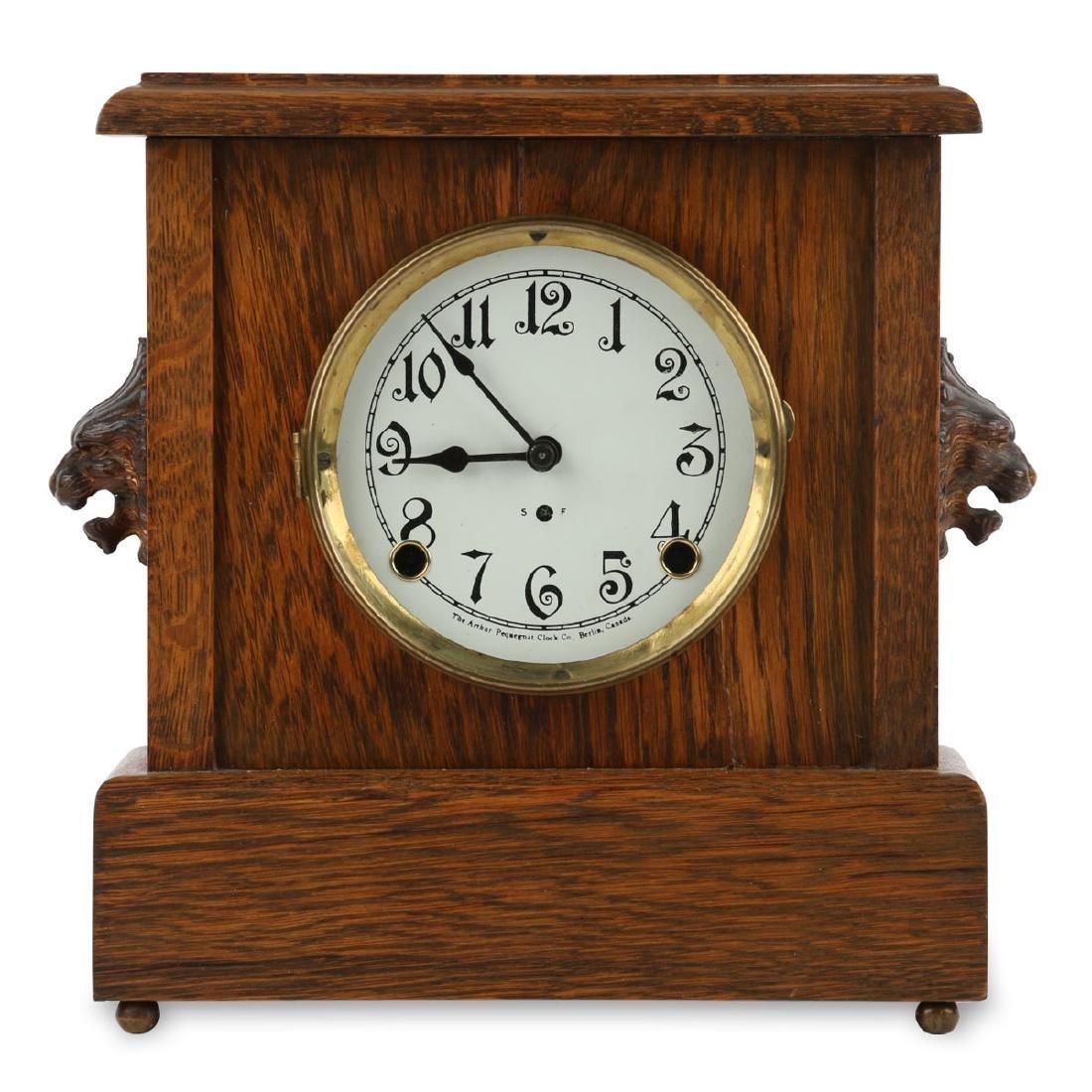 """Pequegnat """"Ward"""" Mantel Clock"""