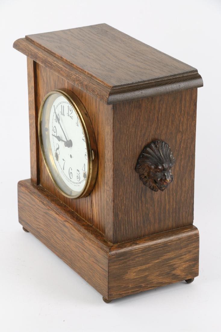 """Pequegnat """"Ward"""" Mantel Clock - 2"""