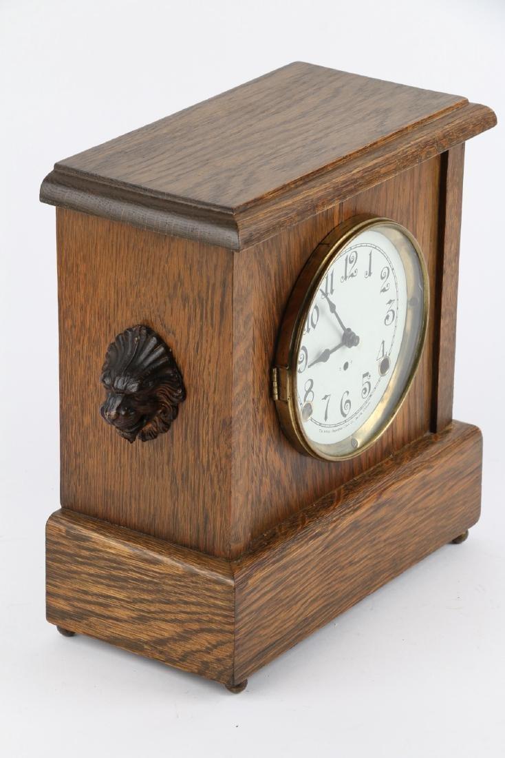 """Pequegnat """"Ward"""" Mantel Clock - 3"""
