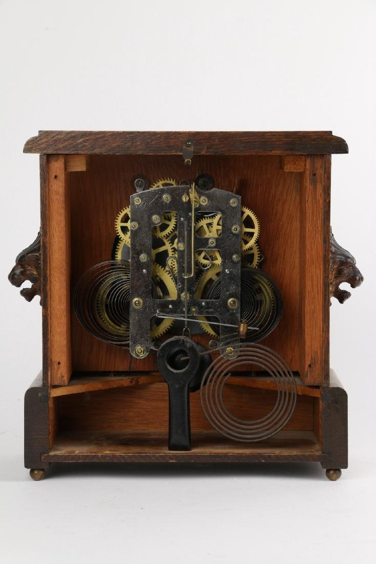 """Pequegnat """"Ward"""" Mantel Clock - 4"""