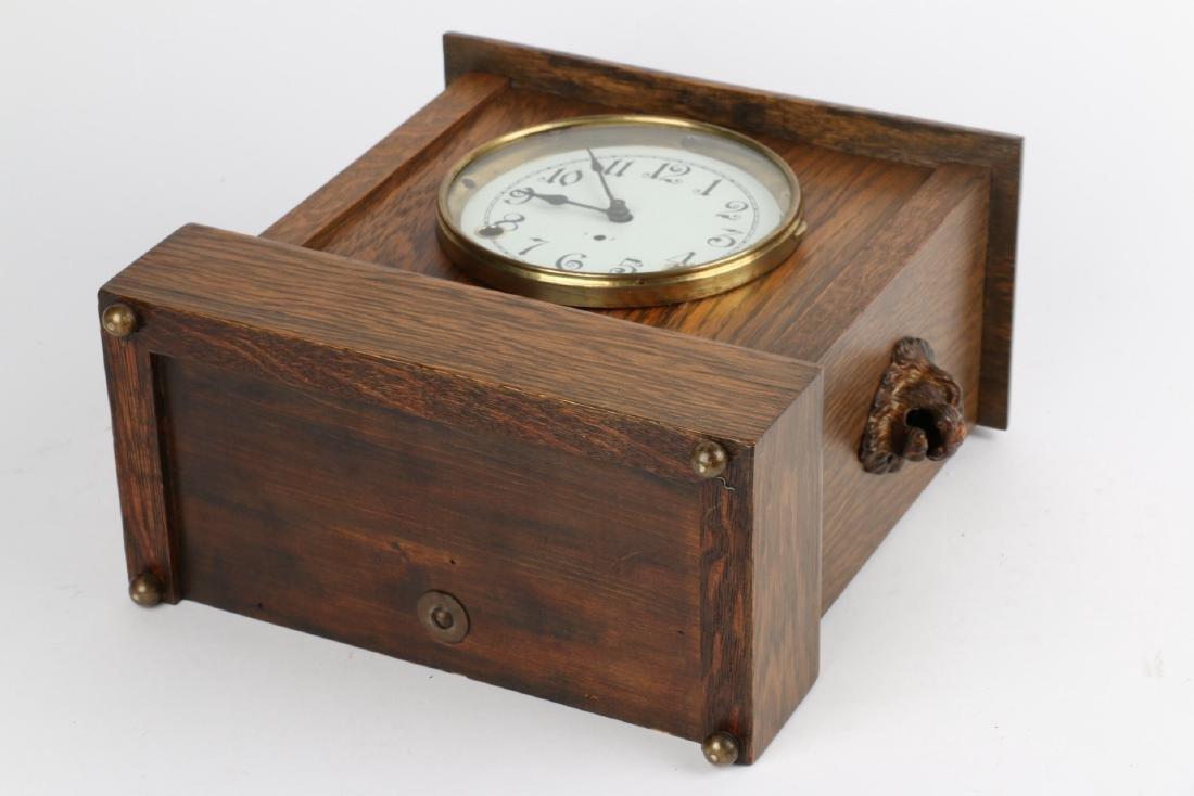 """Pequegnat """"Ward"""" Mantel Clock - 8"""