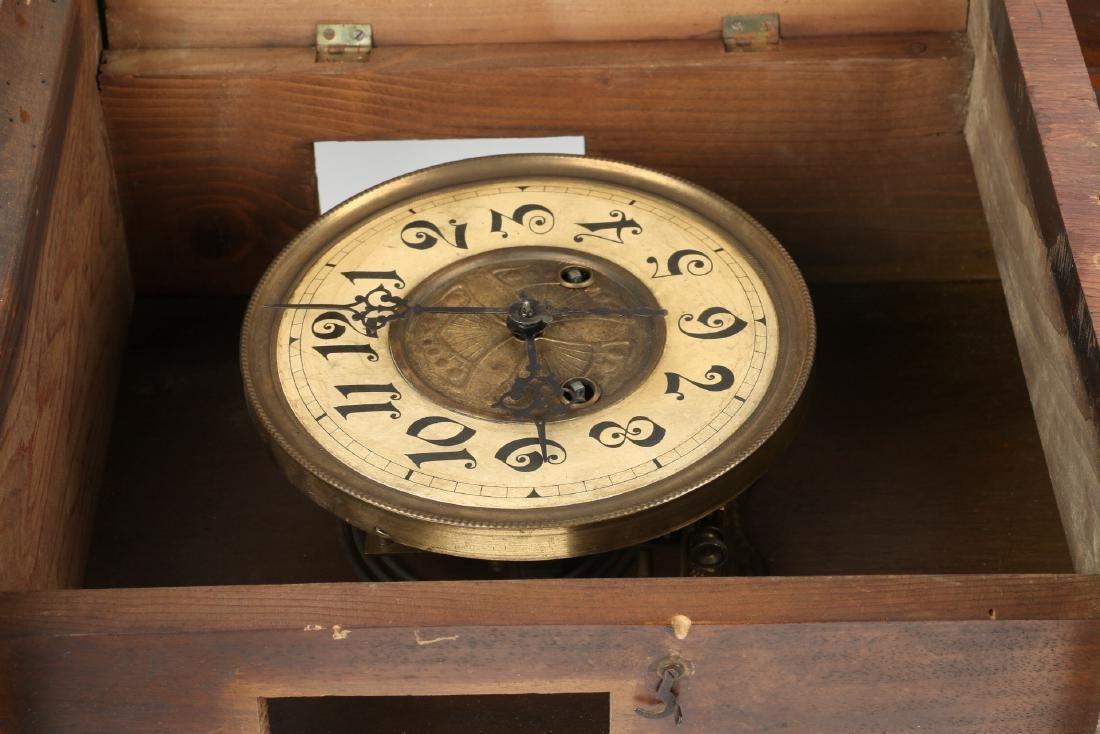 Pair (2) C. 1930s German Wall Clocks - 10