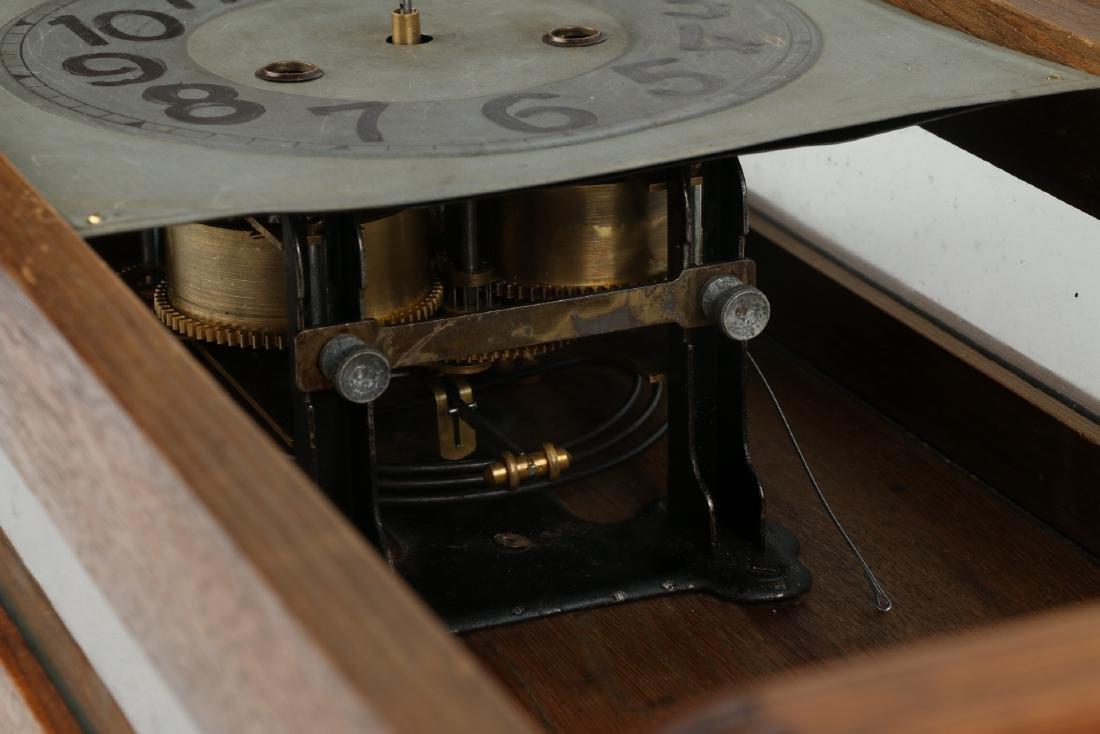 Pair (2) C. 1930s German Wall Clocks - 5