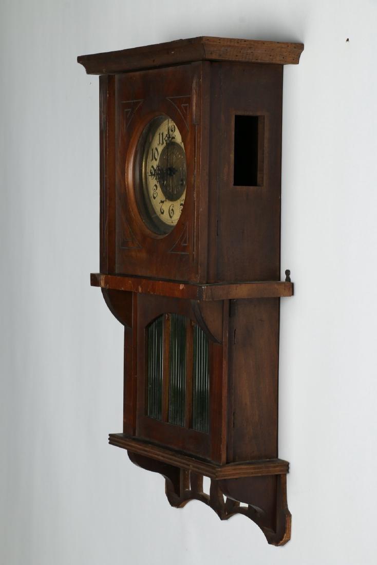 Pair (2) C. 1930s German Wall Clocks - 7