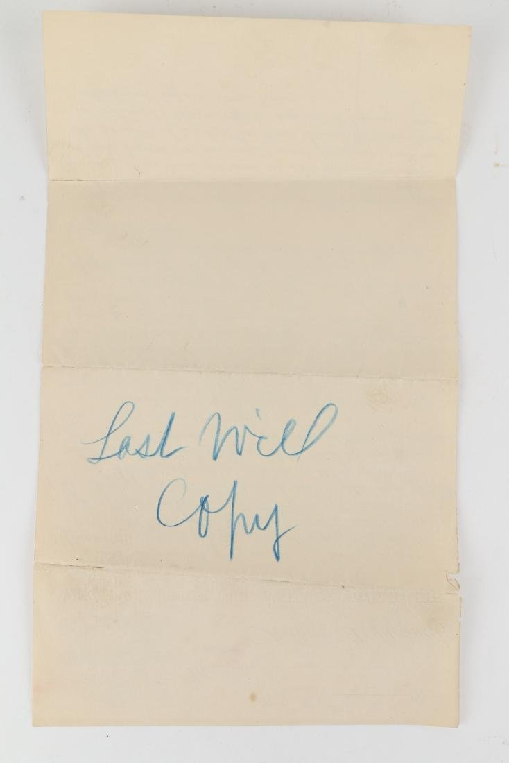 Two (2) Arthur Pequegnat Berlin (as Executor) Documents - 3