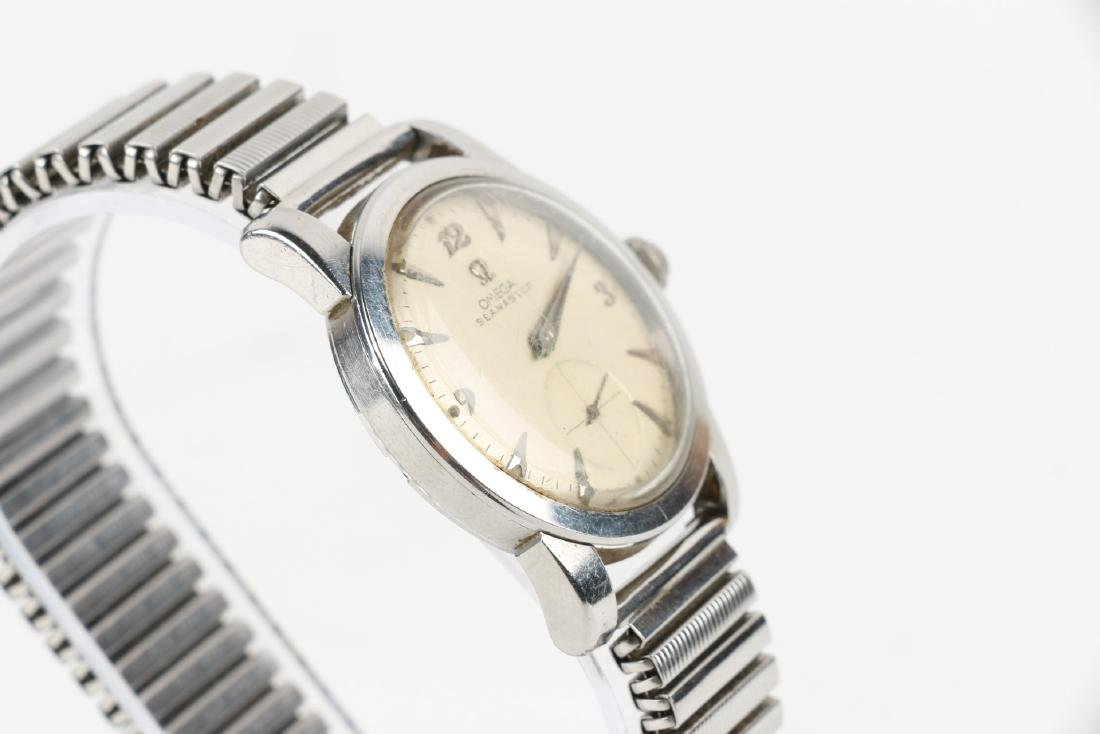"""Omega """"Seamaster"""" 17J Caliber 344 Automatic Wristwatch - 3"""