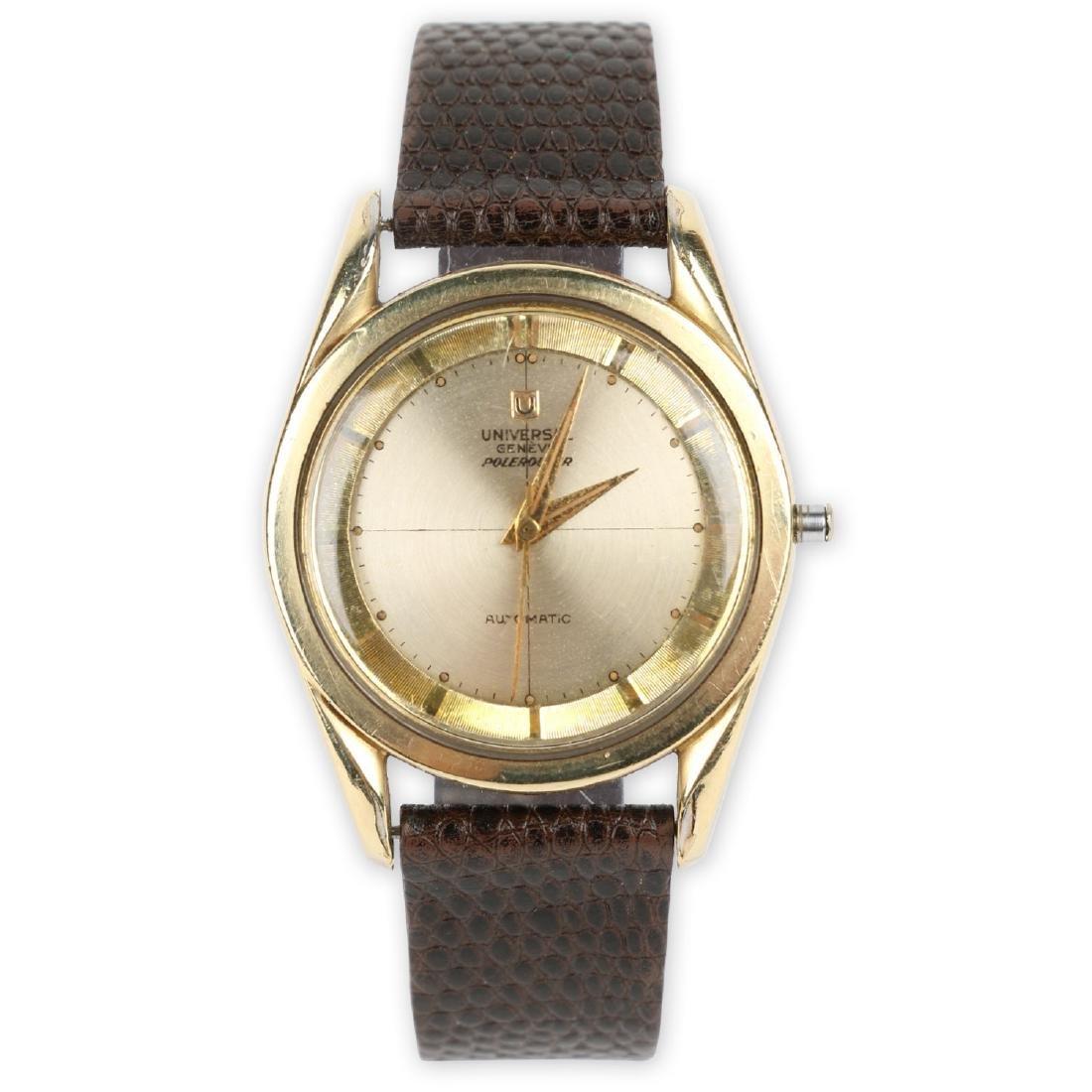 "Universal Geneve Automatic ""Polerouter"" Wristwatch"