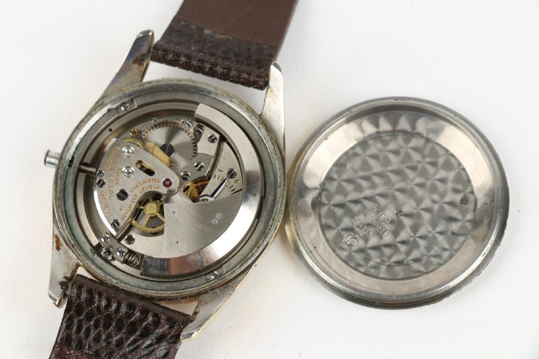 "Universal Geneve Automatic ""Polerouter"" Wristwatch - 6"