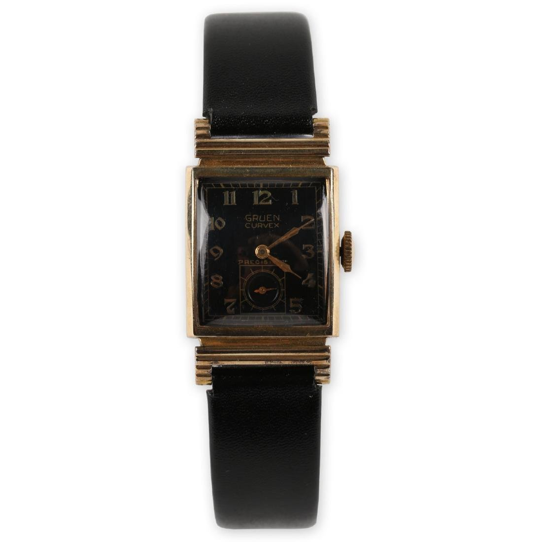 "Gruen ""Curvex"" Precision Dress Wristwatch"