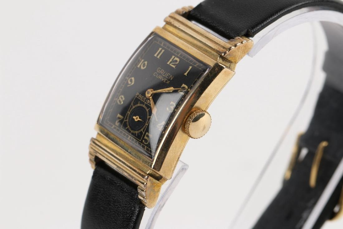 "Gruen ""Curvex"" Precision Dress Wristwatch - 2"