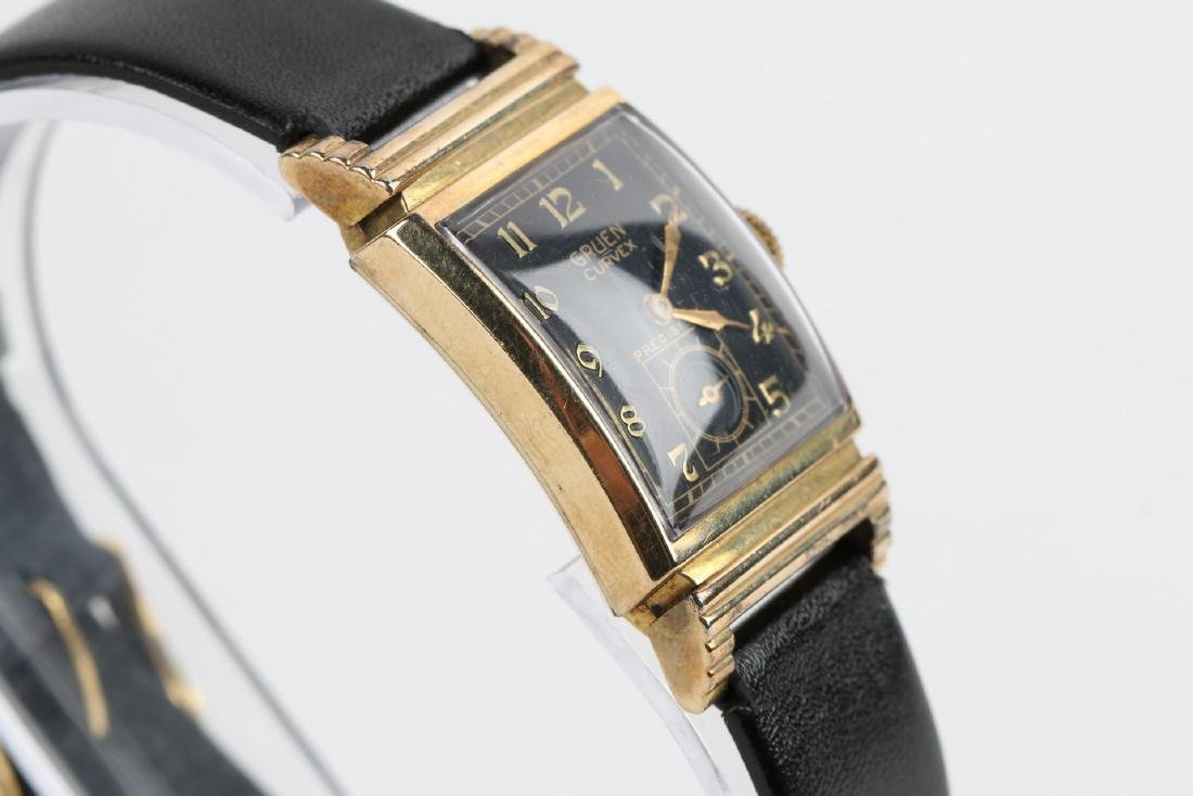 "Gruen ""Curvex"" Precision Dress Wristwatch - 3"