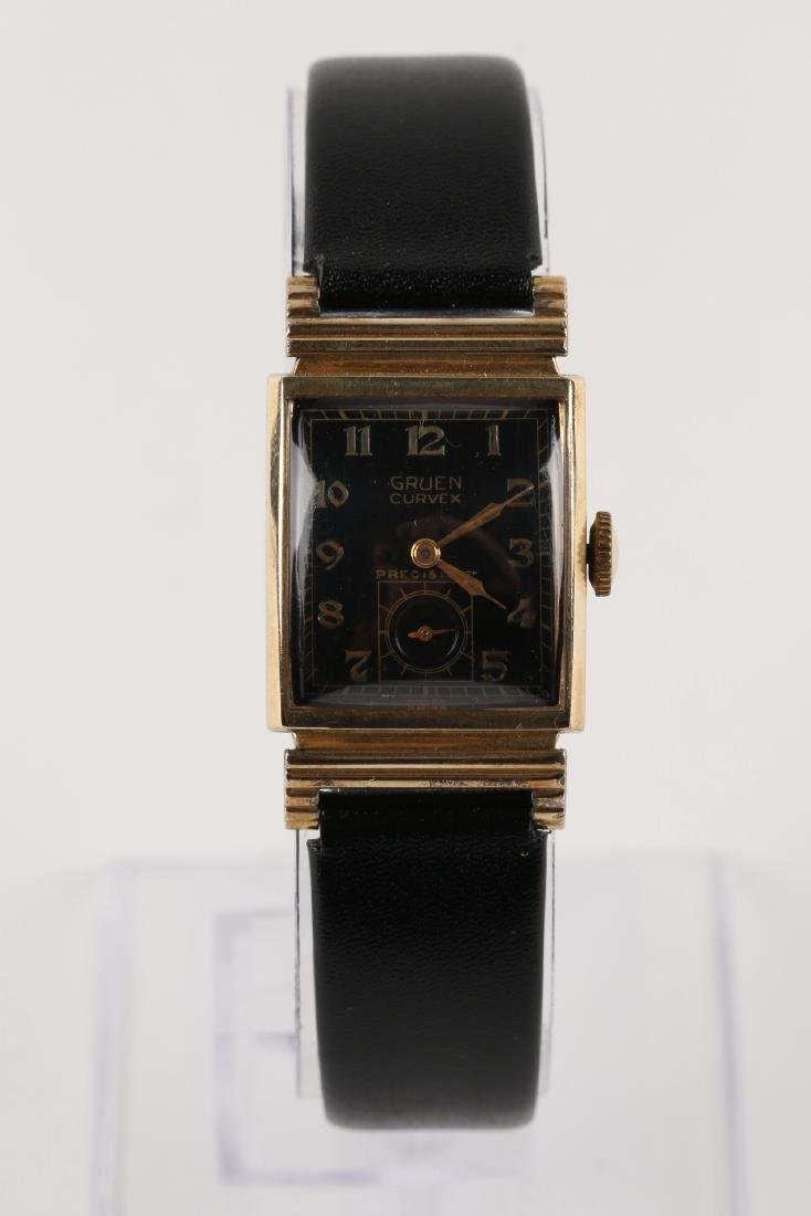 "Gruen ""Curvex"" Precision Dress Wristwatch - 4"
